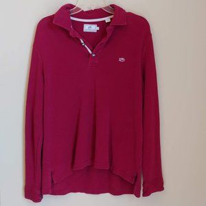 Southern Tide Mens Button Fly Knit Pullover Size M